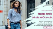 5 items thời trang luôn có trong tủ đồ mỗi cô gái sành điệu nước Pháp