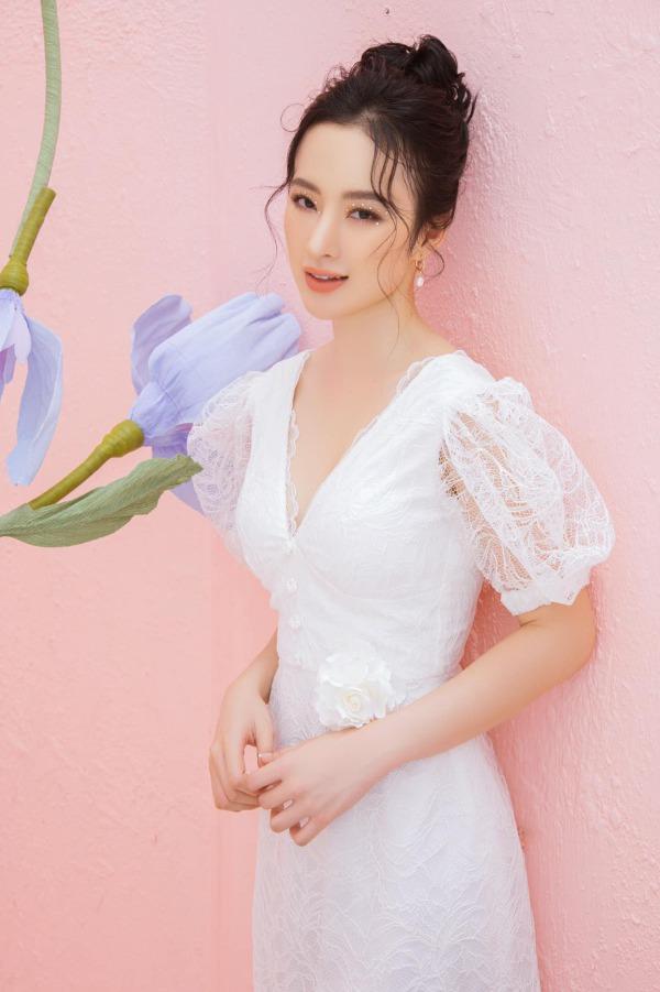 Angela Phương Trinh mặc đầm không gỡ nhãn mác - 8