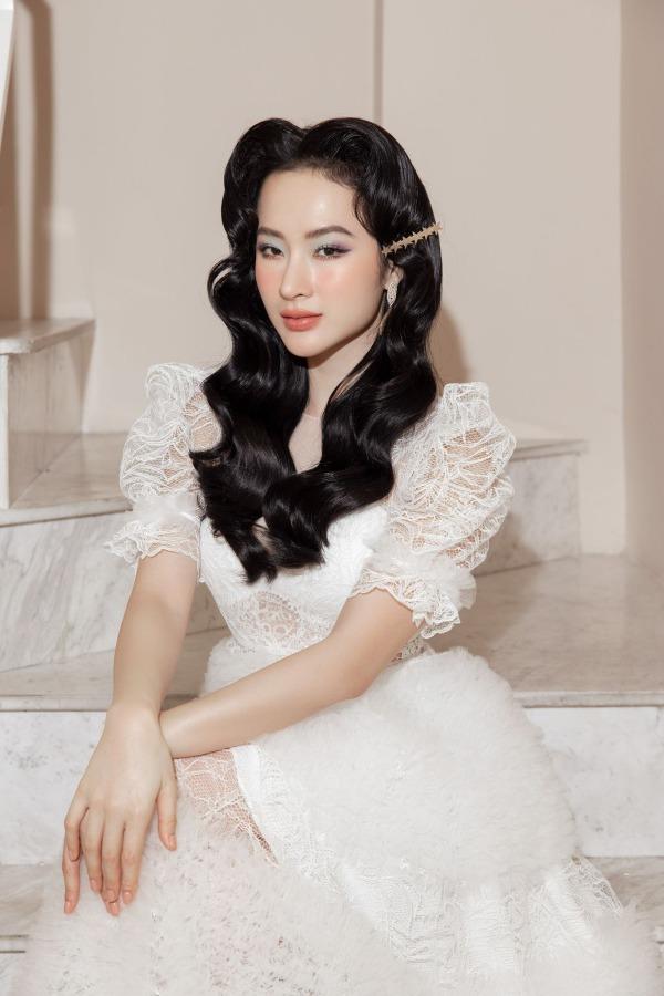Angela Phương Trinh mặc đầm không gỡ nhãn mác - 3
