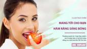 5 loại thực phẩm giúp bạn tìm lại hàm răng sáng bóng, nụ cười tươi đón Tết