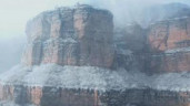 Chiêm ngưỡng tiên cảnh mùa đông ở Thái Hành Sơn