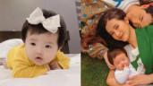 Dân mạng bắt Đông Nhi làm rõ khoản cát-xê khi đưa con gái 12 tuần tuổi đi chụp ảnh