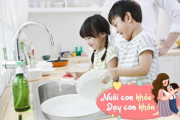 Mẹ amp;#34;lườiamp;#34; mách 4 chiêu khiến con trở thành em bé chăm chỉ, ham thích làm việc nhà - 5