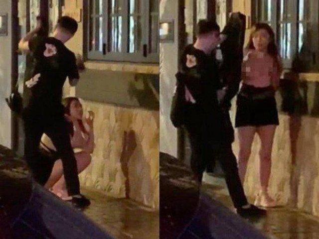 Hành động kỳ quặc của cô gái say xỉn khiến nhiều người đỏ mặt