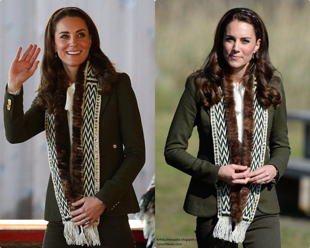Ngắm công nương Kate quàng khăn cổ, chị em tuổi băm ôm được rổ bí kíp diện đẹp chơi Tết - 3