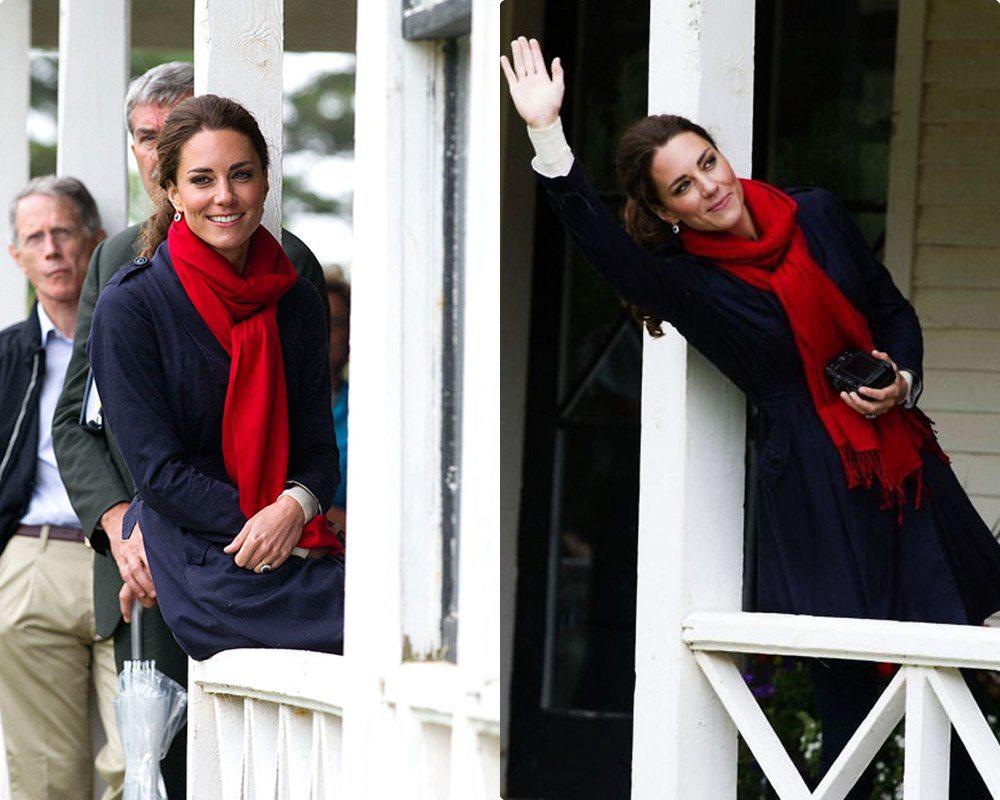 Ngắm công nương Kate quàng khăn cổ, chị em tuổi băm ôm được rổ bí kíp diện đẹp chơi Tết - 7