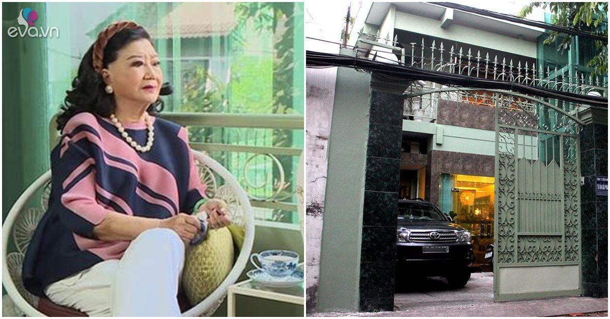Bên trong biệt thự ở TP.HCM của NSND Kim Cương, có cả thang máy di chuyển