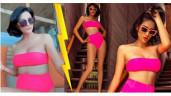 Diện bikini, Trang Trần trước bóp eo kịch liệt, nay tự tin khoe body mi nhon không cần sửa