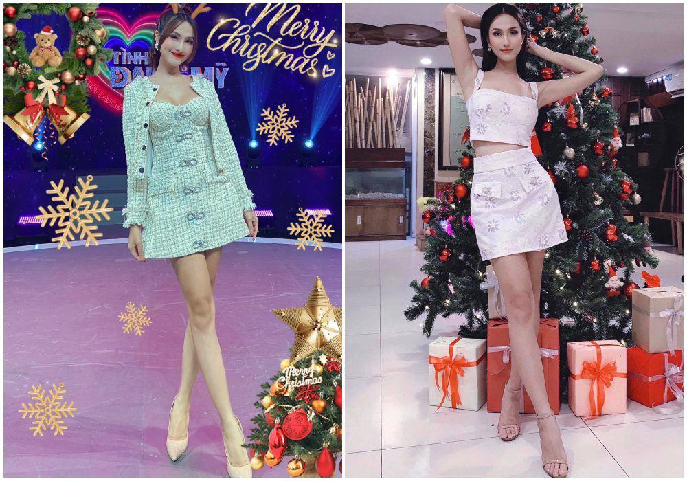 Từng bị chỉ trích vì mặc váy khoe cặp tuyết lê phản cảm, Hoa hậu 9X giờ hở tinh tế - 9