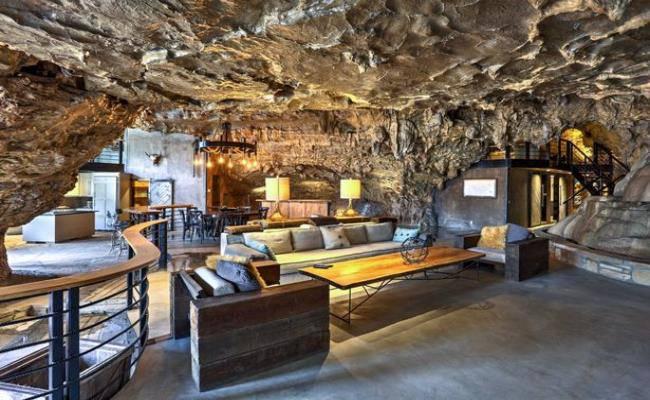 Chui vào hang làm nhà, tưởng hoang sơ ai ngờ đẹp như khách sạn 5 sao - 4