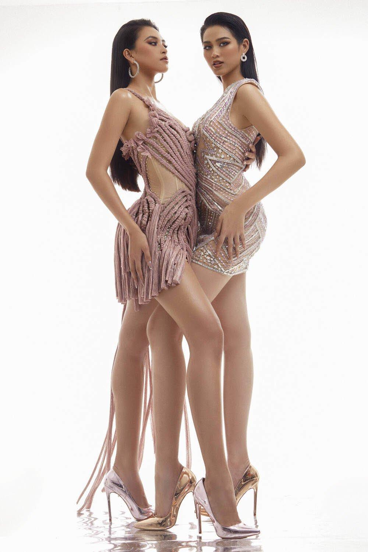 Tiểu Vy thoát mác hoa hậu ngoan hiền với trang phục khoe da thịt siêu gợi cảm - 4