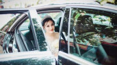 Cô dâu xinh đẹp trong đám cưới khủng 300 mâm cỗ, đi mỏi chân chưa hết rạp giờ ra sao?