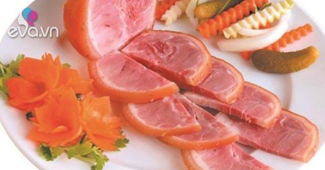 Cách làm giò dăm bông thịt nguội ngon đơn giản tại nhà