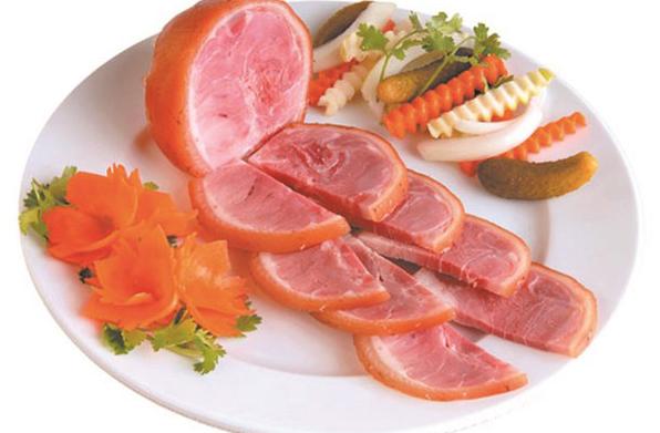 Cách làm giò dăm bông thịt nguội ngon đơn giản tại nhà - 9