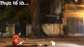 """""""Ánh trăng lừa dối"""" của phim Việt: Khi nữ diễn viên bị xe tông bởi... 1 chiếc đèn"""