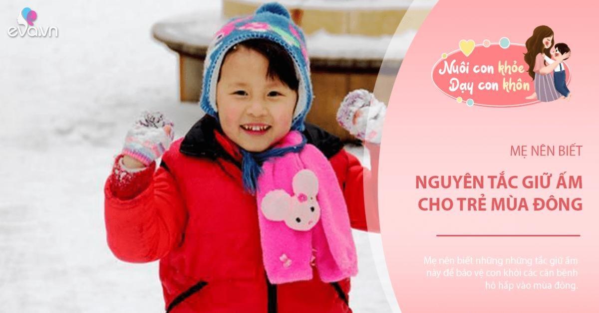 Trưởng khoa Hô hấp BV Nhi đồng I mách mẹ cách mặc ấm cho con vào mùa đông
