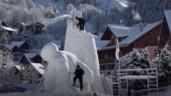Ấn tượng với những tác phẩm điêu khắc từ tuyết