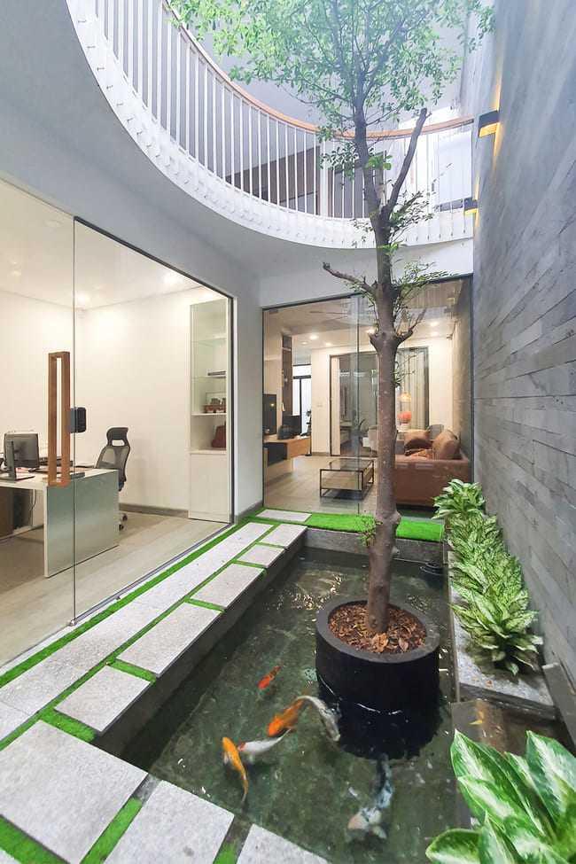 Vừa là nhà ở vừa làm văn phòng, thiết kế sao cho đẹp mà vẫn riêng tư? - 12
