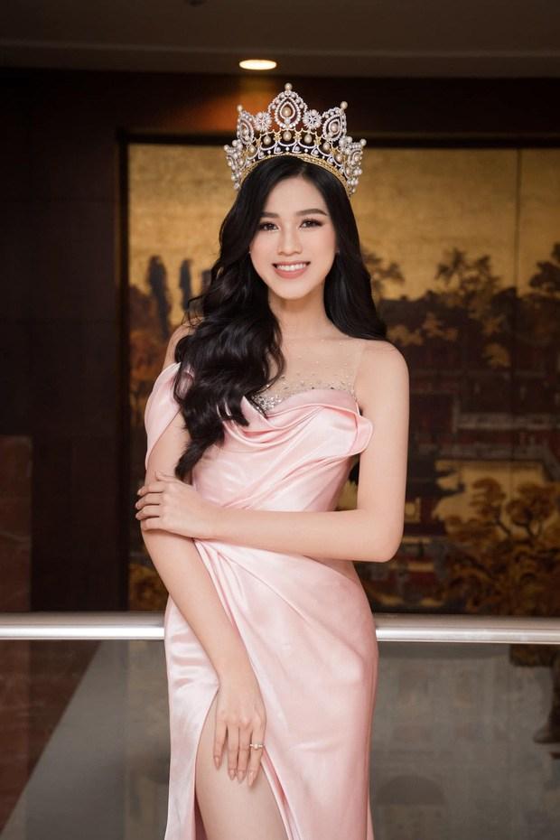 Đụng đầm xẻ chân với Hoa hậu, Ngọc Trinh thua khoản chân dài nhưng ghi điểm nhờ phụ kiện lạ - 1