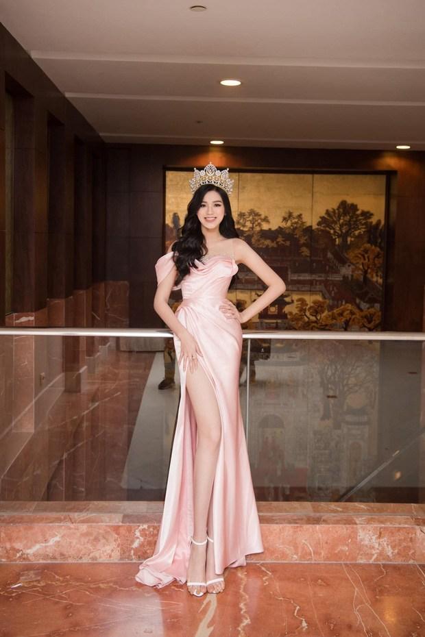 Đụng đầm xẻ chân với Hoa hậu, Ngọc Trinh thua khoản chân dài nhưng ghi điểm nhờ phụ kiện lạ - 3