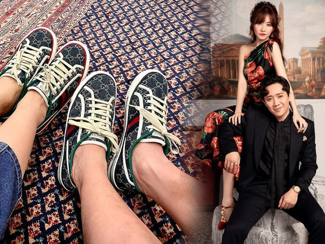 Chiều vợ như Trấn Thành, ngày cận Tết sắm hẳn đồ hiệu đôi diện cùng Hari Won