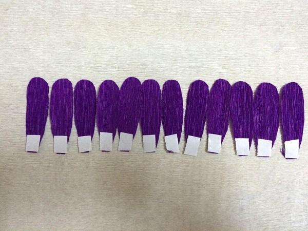 Cách làm hoa giấy đẹp đơn giản để trang trí - 15