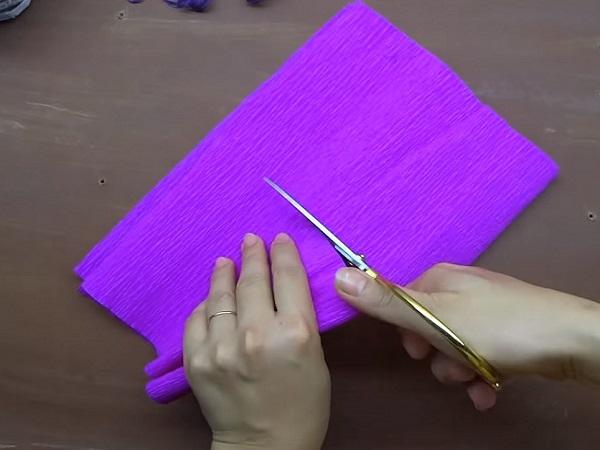 Cách làm hoa giấy đẹp đơn giản để trang trí - 3
