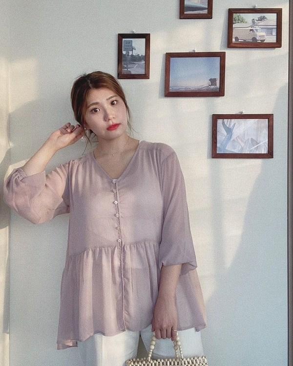 Tăng cân sau mấy ngày Tết, đây là những kiểu trang phục giúp nàng giấu bụng khi đi làm - 3