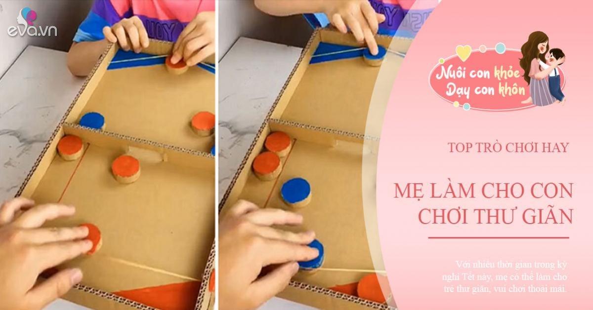 4 trò chơi mẹ tự tay làm bằng thùng carton, giúp trẻ đỡ chán khi ở nhà mùa dịch