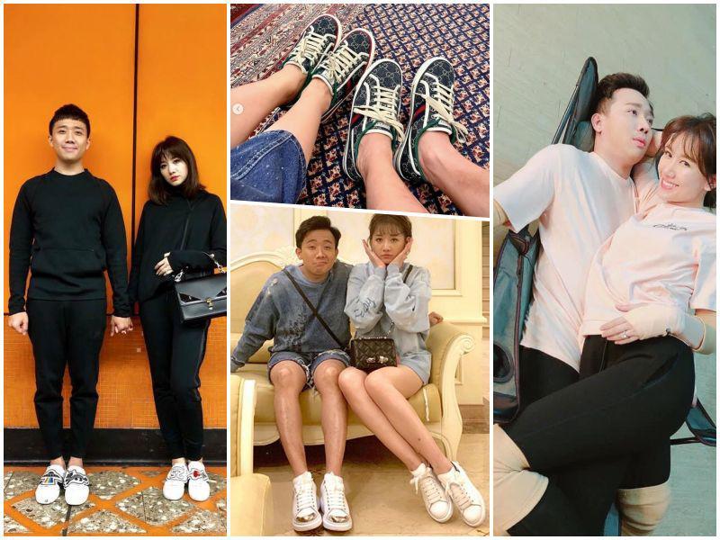 """Thường mặc đồ đôi: quà sinh nhật Trấn Thành cầm chưa """"nóng"""" tay đã bị Hari Won giành - 4"""