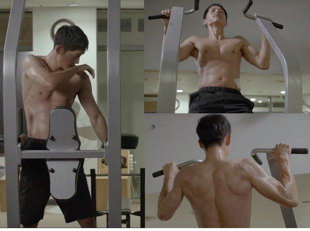 Song Hye Kyo khoe sắc trên tạp chí, Song Joong Ki amp;#34;phản đònamp;#34; phô diễn body lực lưỡng trong phim - 10