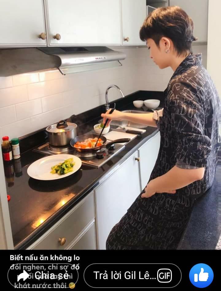 Fan ngưỡng mộ độ tình cảm của Gil Lê - Hoàng Thùy Linh nhờ điểm chung về món ăn - 11