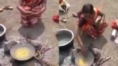 Vợ quay về sau 4 ngày mất tích, chồng bắt nhúng tay vào chảo dầu để kiểm tra sự thật