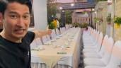 Huy Khánh tới thăm nhà Mạc Văn Khoa, nói rộng 500m2, giá 50 tỷ làm diễn viên hài chối vội