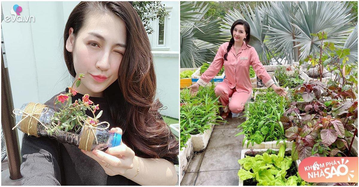 Bảo Thy, Dương Tú Anh lấy chồng giàu nứt đố vẫn thích sống bình dân, bươi đất trồng rau