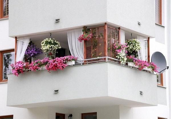 15+ Mẫu ban công đẹp nhất cho nhà phố, nhà ống, chung cư - 15