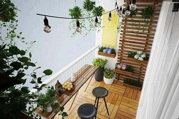 15+ Mẫu ban công đẹp nhất cho nhà phố, nhà ống, chung cư - 13