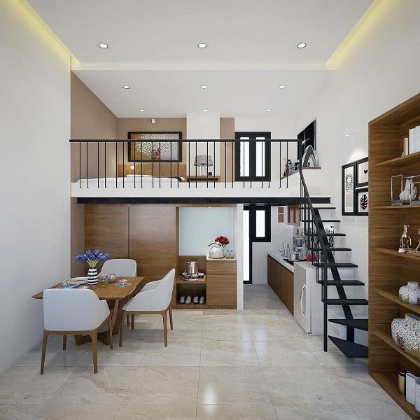 Mẫu nhà gác lửng đẹp, hiện đại nhất 2021 với giá thành rẻ - 9