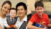 Con riêng của Jennifer Phạm và Quang Dũng 13 tuổi đã cao hơn mẹ Hoa hậu