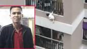 """Danh tính và lời kể của """"người hùng"""" đỡ bé gái rơi từ tầng 12A chung cư Nguyễn Huy Tưởng"""
