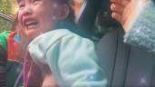 Ngày đầu đi học lại: Con Ly Kute chững chạc, con Hồng Quế khóc cầu cứu từ nhà tới trường