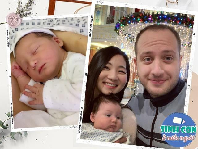 Mẹ Việt sinh con với chồng người Ý, em bé lai ra đời y tá rủ nhau vào xem mặt