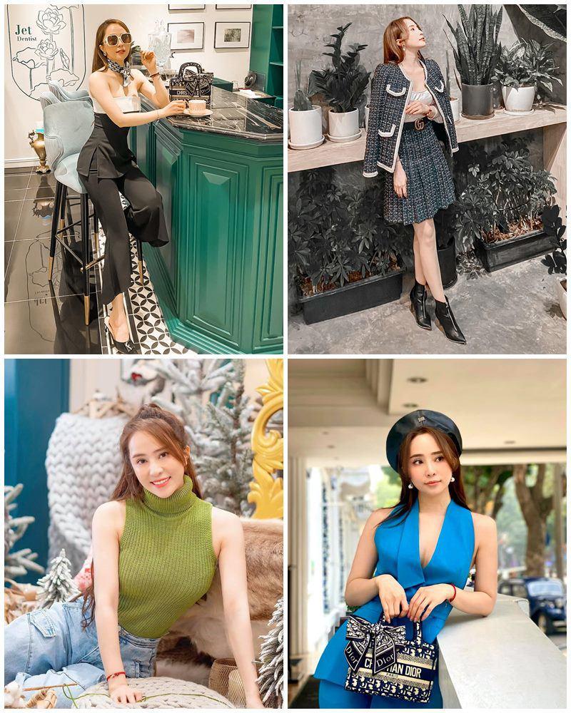 Nữ sinh nào sành như Quỳnh Nga: mặc váy ngắn cũn, đeo balo trăm triệu làm bạn học ngất ngây - 12