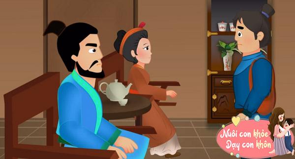 Truyện cổ tích: Anh học trò và 3 con quỷ - 6