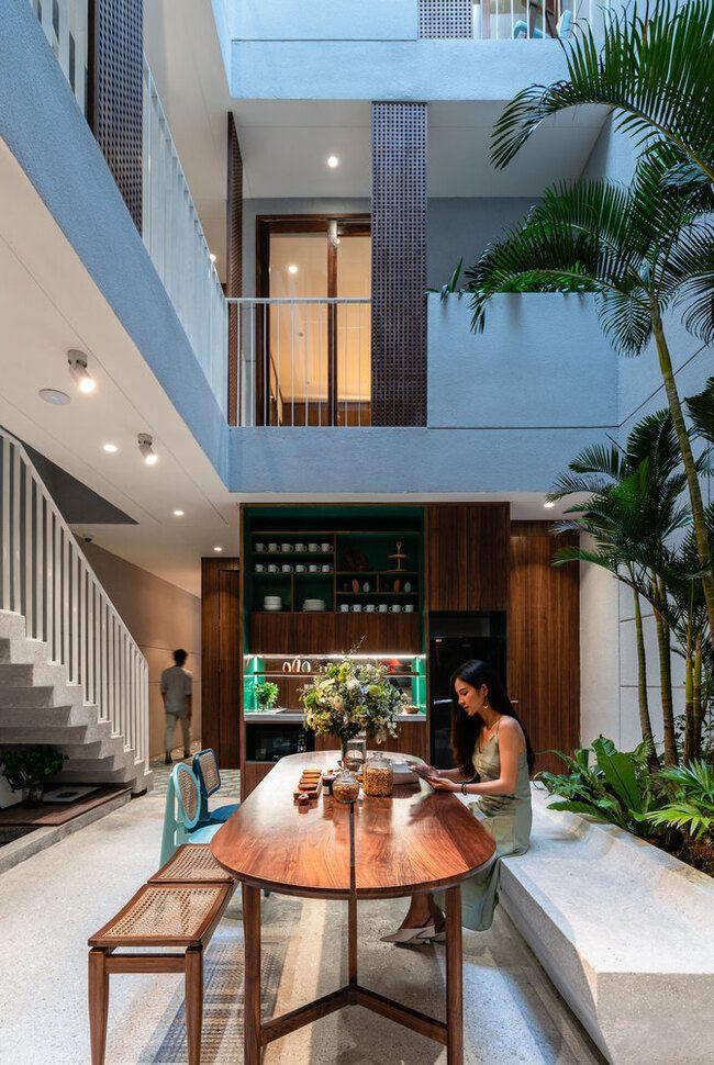 """Trầm trồ trước căn nhà đẹp như """"tác phẩm nghệ thuật đương đại"""" tại Việt Nam - 7"""