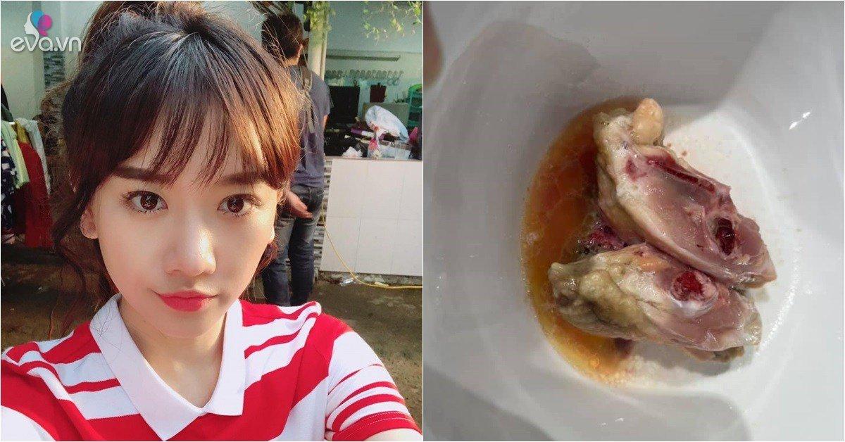 Hari Won gặp sự cố khi rã đông thịt, dàn sao Việt vào bình luận rôm rả