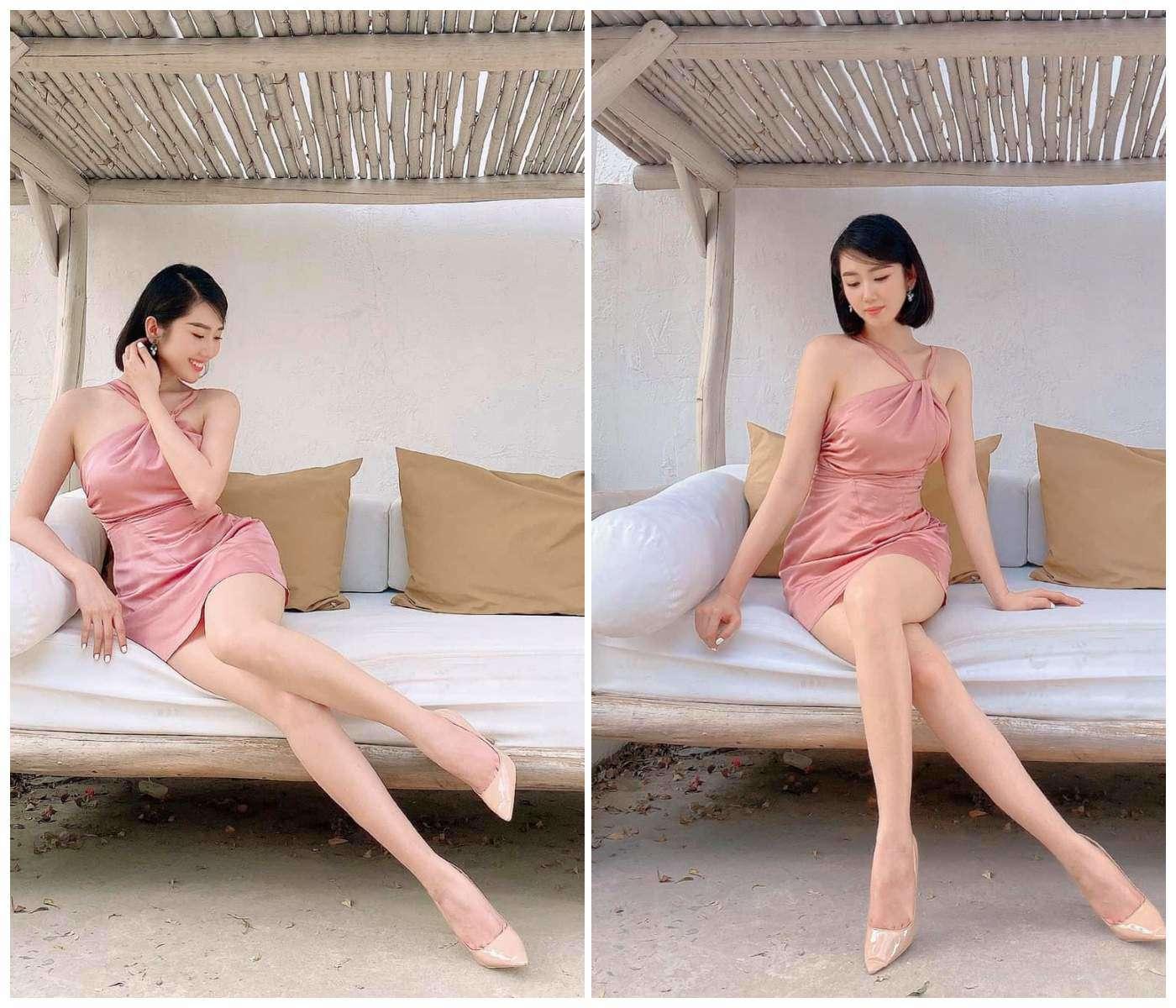 Đụng đầm kén dáng với siêu mẫu, Thuý Ngân mặc kín bưng vẫn khoe lợi thế chân dài - 13