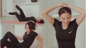 Thấm mệt với thử thách tập thể dục buổi sáng giữ eo thon của Kỳ Duyên
