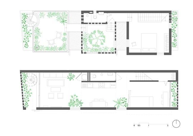 amp;#34;Thích mêamp;#34; căn nhà gạch mộc mạc, có vườn cây xanh mát giữa Hà Nội xô bồ - 5