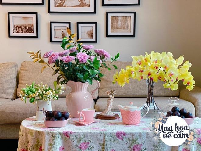 Mẹ Việt biến nhà rực sắc đón ngày 8/3, khoe muôn kiểu cắm hoa đẹp rụng rời - 10